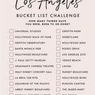 Bucket List Challenge — L.A.