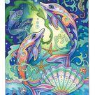 Fanciful Sea Life — Marjorie Sarnat Design & Illustration