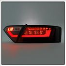 Spyder Audi A5 08 12 LED Tail Lights Black ALT YD AA508 LED BK