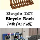 bicycle stand diy
