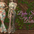 Dissia's Boho Set - Top and Bottom