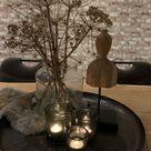 #decoratie #eettafel #dienblad #berenklauw #decoratieidee