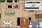 Draw floor plans and arrange furniture freely
