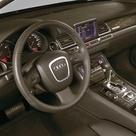 2005 Audi A8 3.2 FSI quattro interior.