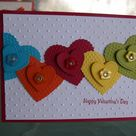 Handmade Valentines Cards