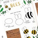 25+ Bee Themed Bullet Journal Spreads For 2020
