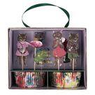 8 Cat Floral Paper Cups, Vintage Afternoon Tea Party, Botanical Party Cups, Floral Party Decor, Nathalie Lete Party Cups