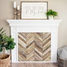 10 Decorative Options for a Fake Fireplace Insert
