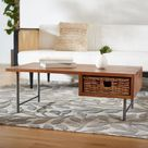 Allester 1 Rattan Drawer Coffee Table