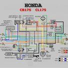 Honda Cd175 Wiring Diagram Motorcycle Wiring Electrical Wiring Diagram Electrical Diagram