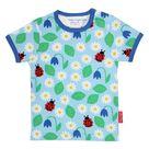 English garden print t shirt   5 6Y