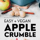 Easy Vegan Apple Crumble