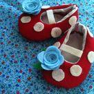 Zapatos De Fieltro