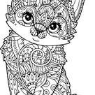 Coloriage animaux anti stress. Imprimer gratuitement, 100 pièces