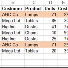Highlight Duplicate Records in an Excel List