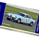 1000 Piece Puzzle. CM9 6011 Louis Frankel, Alfa Romeo Giulietta