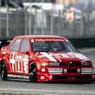 As estranhas saídas de escape viradas para cima do Alfa Romeo 155 DTM por que elas eram assim   FlatOut