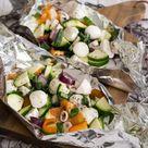 Mozzarella-Gemüse-Päckchen vom Grill Rezept - MakeItSweet.de