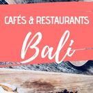 Bali Food Guide - Die besten Cafés  Restaurants in Canggu ⋆ Child  Compass