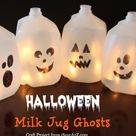 Milk Jug Ghosts