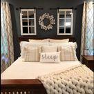Rustic Farmhouse Bedroom Ideas, Bedroom Decoration   Rustic Bedroom Design
