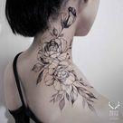 Tattoo On Neck