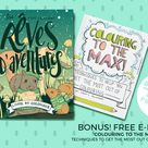 Instant Digital Download - Printable Colouring Pages -