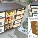 Build a Kitchen Island with Pantry Storage - iCreatived