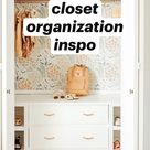closet organization inspo