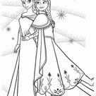 Coloriages Reine des neiges   20 images gratuites à imprimer