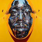 Kip Omolade on His Amazing Afrofuturistic Portraits Inspired by Nigeria's Ife Bronze Heads