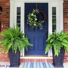 Painted Front Doors