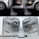4Pcs Audi door lights with logo Door Welcome LED Lights Logo Courtesy Projector Ghost Shadow Light