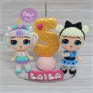 Topinho com vela LOL Unicorn e Curious QT no Elo7   Paty's Biscuit 10A0459