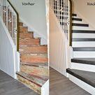 Bildergalerie - Treppenrenovierung   Treppensanierung Schran