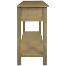 Red Barrel Studio® Console Table w/ Drawers Wood in Yellow, Size 30.0 H x 35.4 W x 13.8 D in | Wayfair