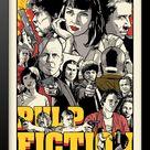 Quadro e poster Pulp Fiction - Quadrorama