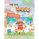 We Are Happy: inchpuzzle Book 1 inch Unscramble the Word Book: Activity Book for Kids, Ages 4 to 8, 8.5 x 11 inches, Spelling the Word Scramble, Quiet Time for You and Fun for Kids (Paperback) Size: 8.5 inch