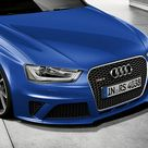New Audi RS 4 Avant Sepang Blue Pearl Effect