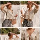 Camille Top PDF Sewing Pattern