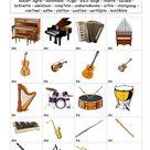 Kennst du die Musikinstrumente?