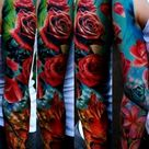 Floral Tattoo Sleeves