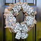 Wreath Burlap