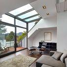 Architekturbüro lehnen moderne woonkamers | homify