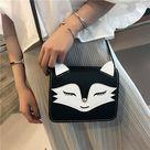 Cute Fox Face Shoulder Bag Hand Bag from KoKo Fashion
