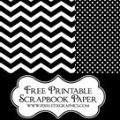 Printable Scrapbook Paper