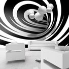 Fototapete   Twisted In Black & White   150x105