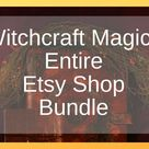 Witchcraft Magick Etsy Shop Bundle  Includes All Shop   Etsy
