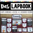 Grammatik - Das Lapbook - Deutsch - Grundschule