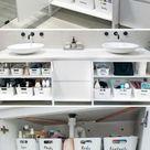 Ikea Bathroom Organizing Hacks- 7 Stunning Ideas - The Crazy Craft Lady